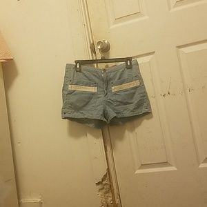 Cute shorts with large front and back pockets